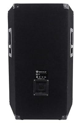 (2) Rockville RSG15 15 3-Way 1500 Watt 8-Ohm Passive DJ/Pro Audio PA Speaker by Rockville