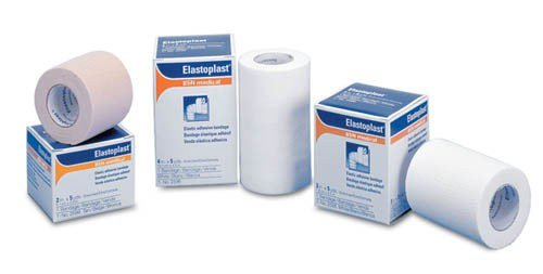 - Tensoplast Elastic Adhesive Bandage 3 x 5 yds, stretched BSN MEDICAL 2595 .