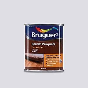 BRUGUER - Barniz Parquet Sat Acril.Incol Bruguer 4 L: Amazon ...