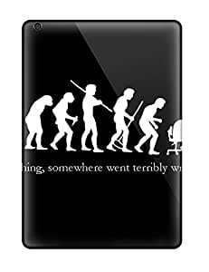 [JlUqoHT26195ISNJo] - New Funny Evolution Of Man Protective Ipad Air Classic Hardshell Case