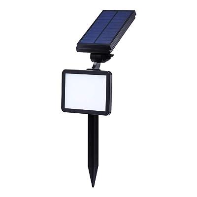 EREMOKI Solar Spotlight, Motion Sensor+Dim Light, 48 LED Bulbs Waterproof Solar Landscape Light Solar Lights Outdoor, Auto On/Off for Patio Pool Yard, Driveway : Garden & Outdoor