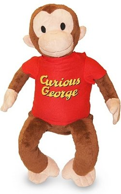 Curious George Classic George 12-inch Plush by Applause