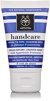 Apivita Cream For Dry-Chapped Hands with Hypericum & Beeswax 50ml/1.76oz