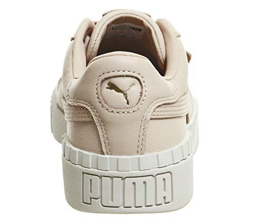 Para Beige 1 Tan Mujer Wn's cream cream Zapatillas Cali Tan Emboss Puma xSwIAUq