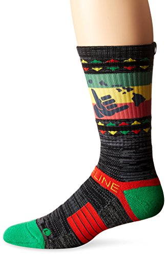 Strideline Mahalo Charcoal Strapped Fit 2.0 City Line Socks