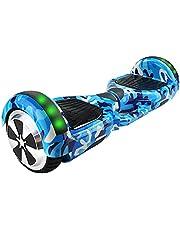 "Hoverboard Skate Elétrico 6.5"" Led Bluetooth Motor Brushless+Bolsa"