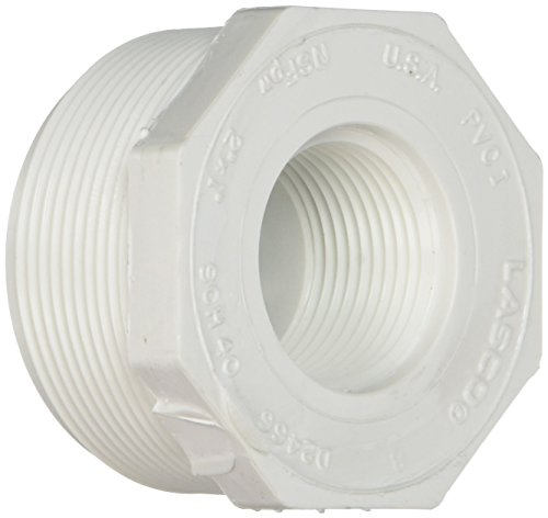 Genova Products 34320 PVC Sch. 40 Threaded Reducing Bushings, 2