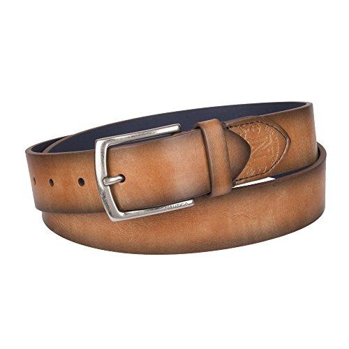 Nautica Men's Casual Belt, tan vintage, 38