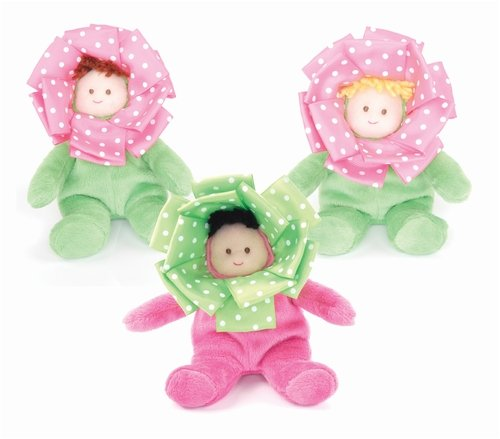 Little Sprout Flower Rattle