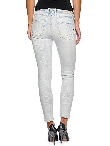 Índigo Brillo Skinny Mujer Pepe W26 Pantalón Chica l30 Efecto Jeans Claro Modelo Shard XxPq4B
