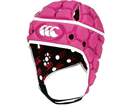 Canterbury – Casco de Rugby Ventilator, Mixto Adultos, Color Rose, tamaño L