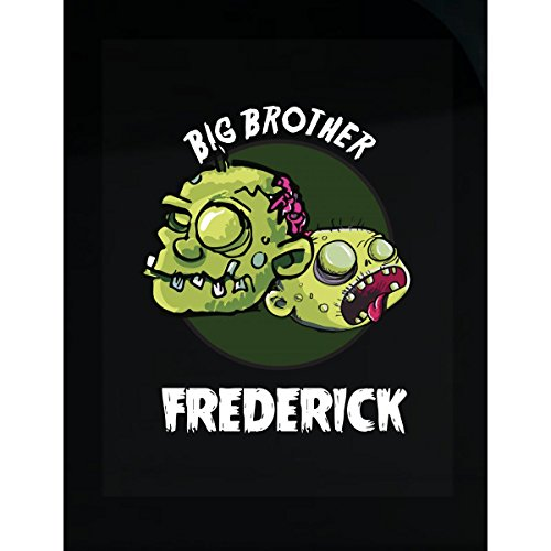 Prints Express Halloween Costume Frederick Big Brother Funny Boys Personalized Gift - Sticker