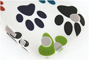 New! Colourful Paws Pattern Gel Skin Case / Cover for BlackBerry 9320