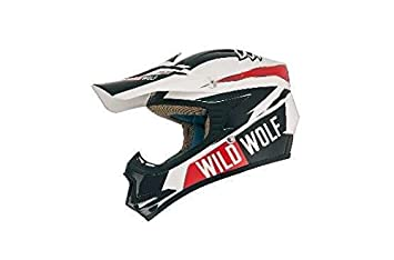 Casco Shiro Mx-306 Wild Wolf Kids