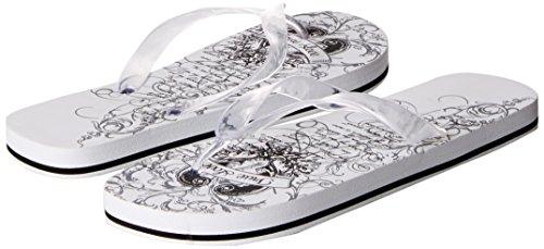 Lillian Rose Just Married Women's Flip Flops, Large, Size 9-10