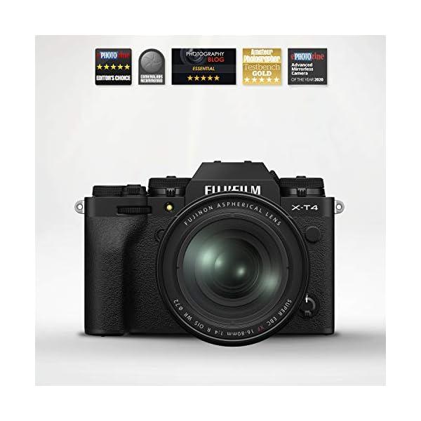 RetinaPix Fujifilm X-T4 26 MP Mirrorless Camera Body with XF16-80mm Lens - Black