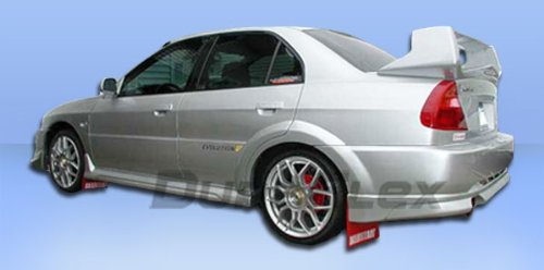 1997-2001 Mitsubishi Mirage 4DR Duraflex Evo 5 Widebody Rear Fender Flares - Duraflex Body Kits - Evo 5 Wide Body