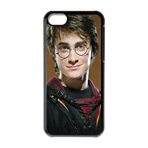iPhone 5c Cell Phone Case Black Harry-Potter Plastic Hard Phone Case XPDSUNTR08778