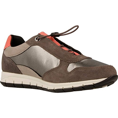 Calzado deportivo para mujer, color marr�n , marca GEOX, modelo Calzado Deportivo Para Mujer GEOX D CONTACT Marr�n marr�n