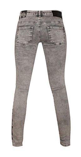 Jeans Zhrill W9070 Grey Unique Femme Taille drnxq7wrU