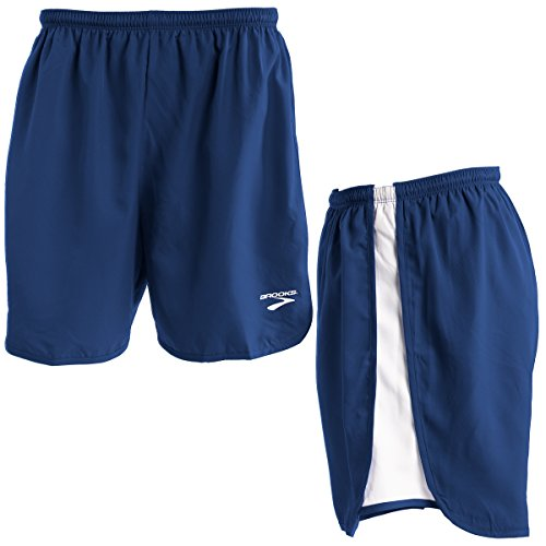 Brooks Mens Running Shorts - Brooks (2 Pack Mens Running Shorts