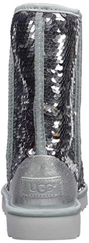 Mujer Bajas Lentejuelas Plateado Clásicas Para Ugg1094982 Con X1wt5t