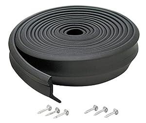 m d products 16 rubber garage door bottom seal 03749 diy tools. Black Bedroom Furniture Sets. Home Design Ideas