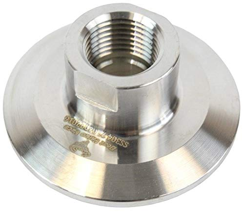 Best Value Vacs 3 inch by 1//2 inch FNPT End Cap
