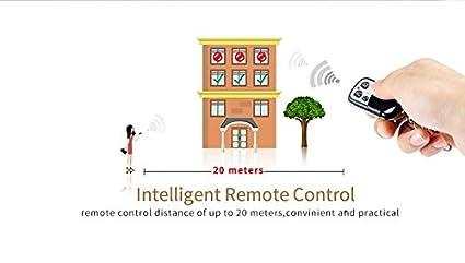 Interruptor Táctil,Interruptor Sensor,Interruptor LED, Inductivo de Tacto Electrostática del Cuerpo Europeo con (Doble Apagadores de Pantalla ON / OFF)  ...