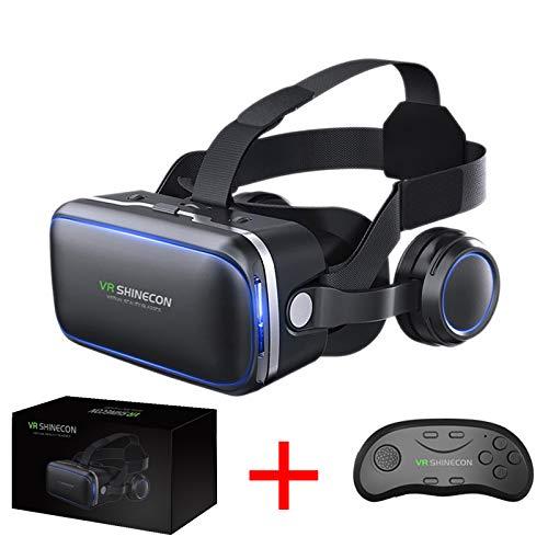 f7590fd2a67 VR SHINECON Original 6.0 VR Headset Version Virtual Reality Glasses Stereo  Headphones 3D Glasses Headset Helmets