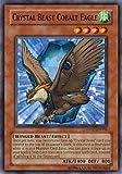 yu gi oh crystal - Yu-Gi-Oh! - Crystal Beast Cobalt Eagle (DP07-EN006) - Duelist Pack 7 Jesse Anderson - 1st Edition - Common