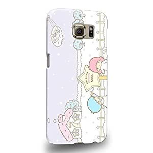 Case88 Premium Designs Little Twin Star Kiki And Lala Dreamy Diary 1321 Protective Snap-on Hard Back Case Cover for Samsung Galaxy S6 (Not S6 Edge !)