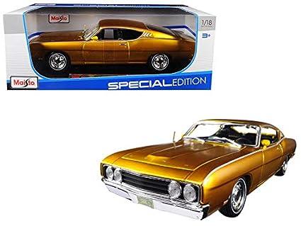 Amazoncom Starsun Depot 1969 Ford Torino Talladega Gold