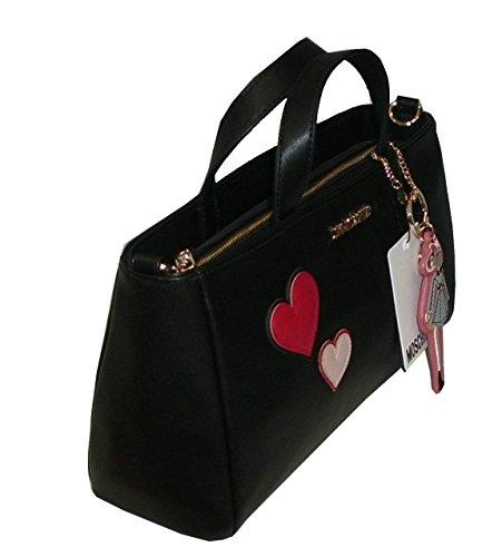 Borsa Love Moschino shoulder bag JC4092 pp14 calf pu nero