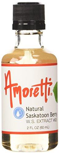 Amoretti Saskatoon Berry Extract 2 Fluid (Saskatoon Berry)