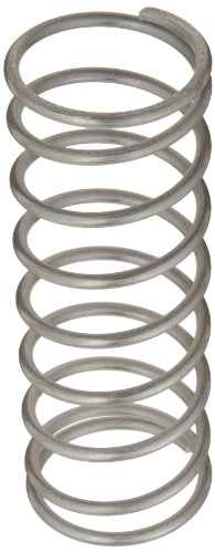 - Compression Spring, 302 Stainless Steel, Inch, 1.937