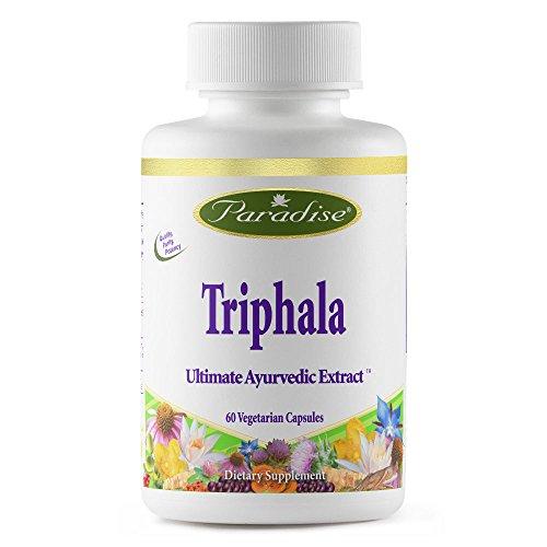 Paradise Herbs Vegetarian Capsules, Triphala, 60 Count