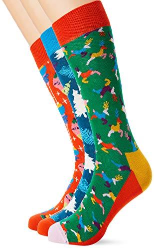 Happy Socks Holiday Singing Retro Gift Box (4,5-7,5)