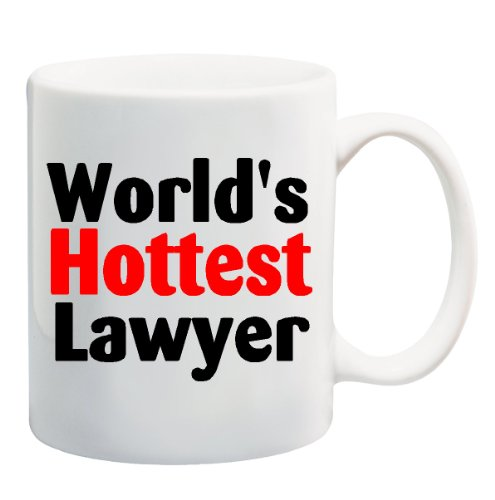 WORLDS HOTTEST LAWYER Mug Cup product image