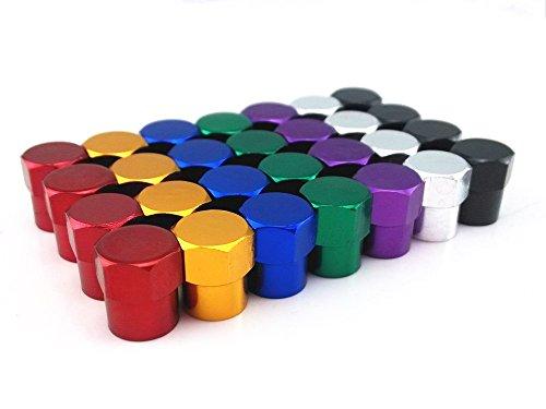yueton Colorful Aluminum American Schrader