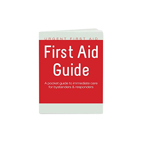 Urgent First Aid Guide with CPR & AED - 52 Pages | Full Color First Aid Booklet by Urgent First AidTM complies with OSHA & New ANSI Guidelines