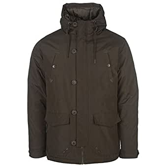 Pierre Cardin Mens Shell Parka Jacket Winter Coat with