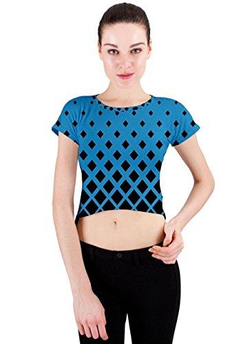 CowCow - Camiseta sin mangas - para mujer azul celeste