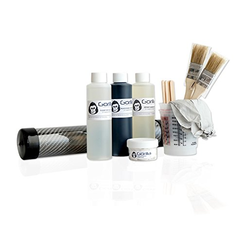 Gorilla carbonworksTM real carbon fiber skinning starter kit (Checker Board) -