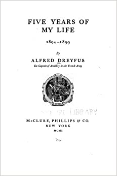 Book Five Years of My Life, 1894-1899
