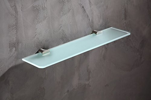 19.69'' Glass Shelf - Brushed Nickel - Essence Series AC-AZ050BN - ANZZI by ANZZI (Image #3)