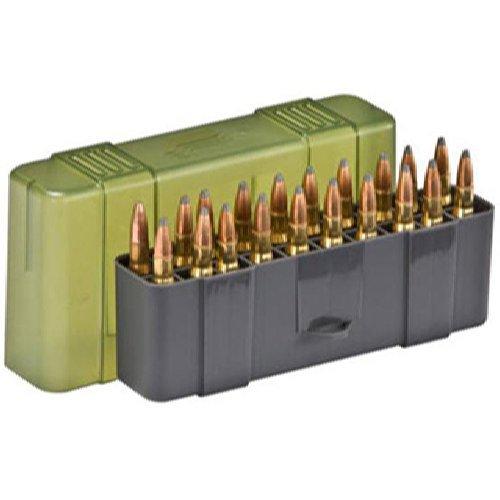 Plano - Estuche de almacenaje para munición con tapa deslizante, tamaño mediano, 20 balas 1230-20
