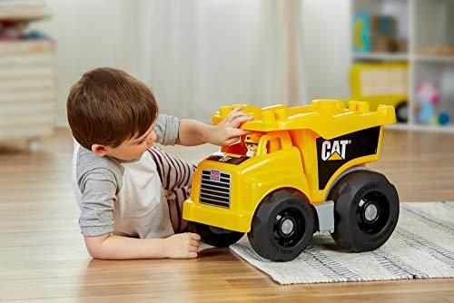 41PGwCG XeL - Mega Bloks Caterpillar Large Dump Truck