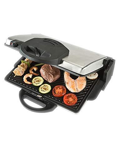 Bourgini Classic Health Grill Deluxe Parrilla Mesa Eléctrico ...