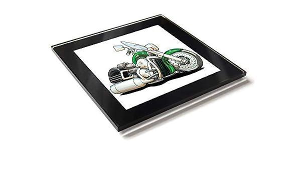 Koolart Kawasaki Vulcan - Posavasos de cristal con caja de regalo ...